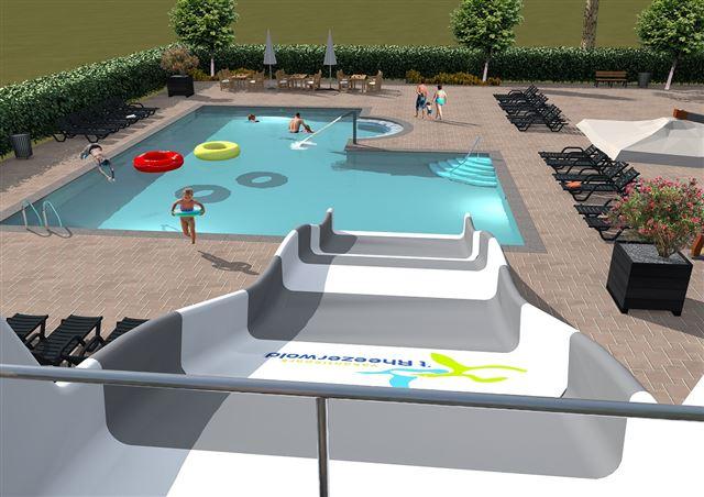 3D Visualisatie Zwembad